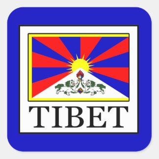 Tibet Square Sticker