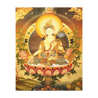 Tibetan Buddhist Art Canvas Print
