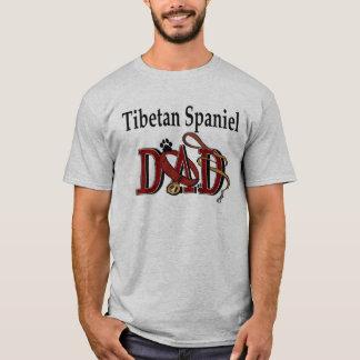 Tibetan Spaniel Dad Apparel T-Shirt