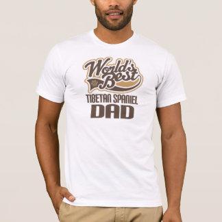 Tibetan Spaniel Dad (Worlds Best) T-Shirt