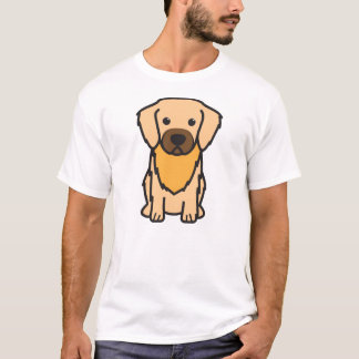 Tibetan Spaniel Dog Cartoon T-Shirt