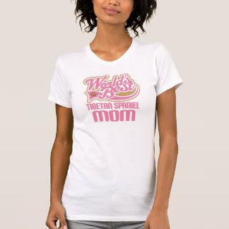 Tibetan Spaniel Mom Dog Breed Gift T-Shirt