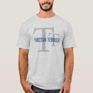 Tibetan Terrier Breed Monogram T-Shirt
