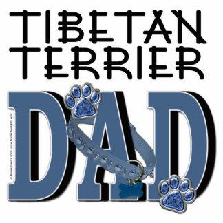 Tibetan Terrier DAD Standing Photo Sculpture
