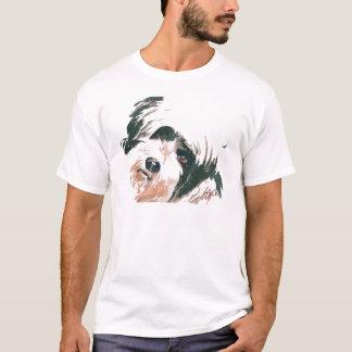 Tibetan Terrier portrait T-Shirt