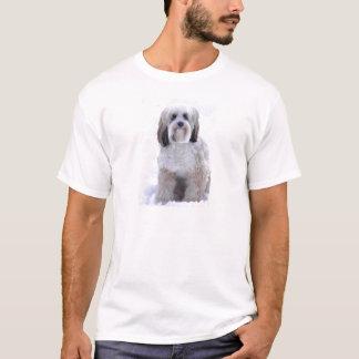 Tibetan Terrier Sable and White T-Shirt