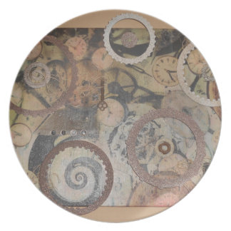 Tick Tock Plate