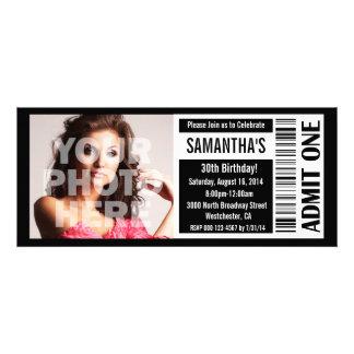 Movie Ticket Invitation Template for best invitation sample