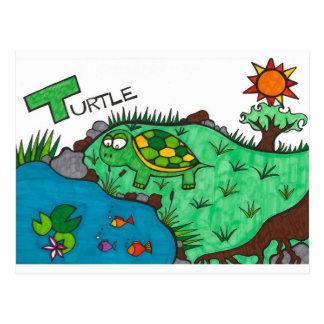 Ticklish Turtle Post Cards