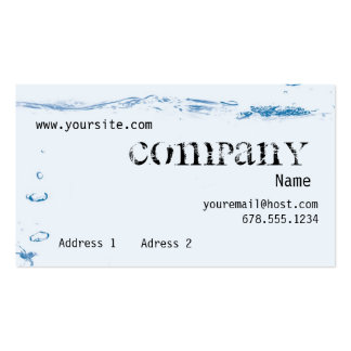 Tides Pack Of Standard Business Cards