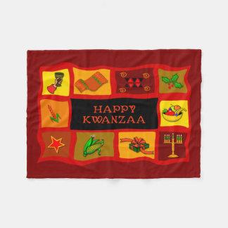 Tidings Of Kwanzaa Kwanzaa Fleece Blanket