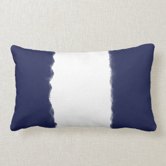 Tie Dye Blue Lumbar Pillow