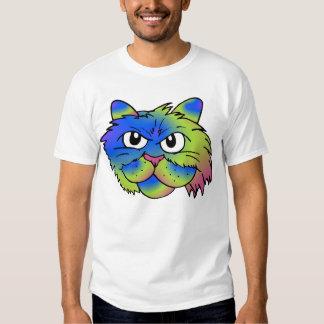 Tie-Dye Cat T-shirts