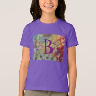 Tie dye girls shirt