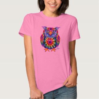 Tie Dye Owl Shirt