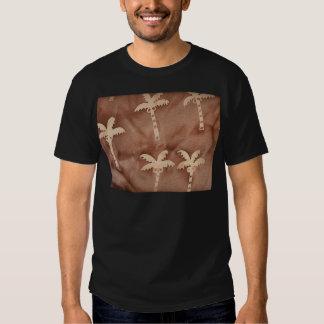 Tie Dye Palm Trees T Shirts