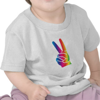 Tie-Dye Peace Sign T-shirts