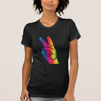 Tie-Dye Peace Sign Tee Shirt
