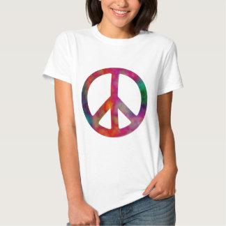 Tie Dye Peace Symbol Tees