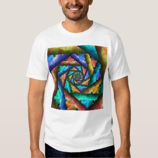 Tie Dye Pinwheel Tshirts