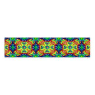 Tie Dye Sky Colorful Kaleidoscope Napkin Band