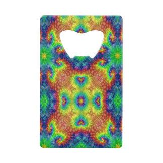 Tie Dye Sky  Kaleidoscope  Credit Card Openers