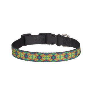 Tie Dye Sky  Tiled Dog Collars