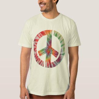 Tie-Dye Stencil Peace T Shirt