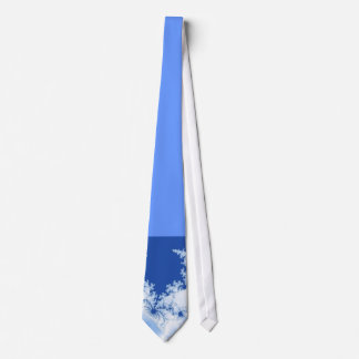 Tie Fraktal blue knows