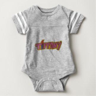 TIFFANY Name Logo Baby Bodysuit