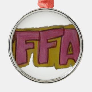 TIFFANY Name Logo Christmas Ornament