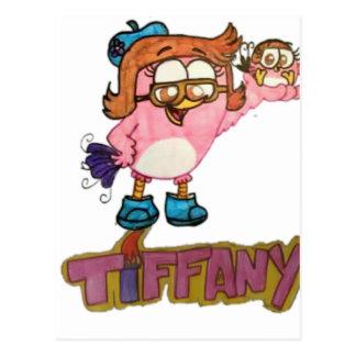TIFFANY Tiffany and Madison Postcard