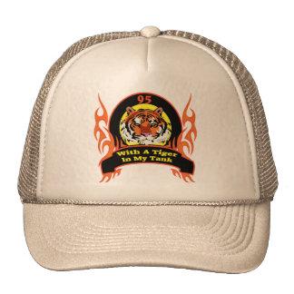 Tiger 95th Birthday Gifts Trucker Hats