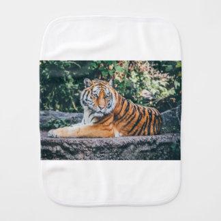 Tiger Baby Burp Cloth