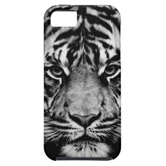 Tiger Black&White Tough iPhone 5 Case