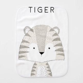 Tiger Burp Cloth