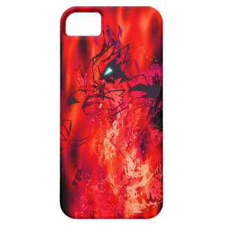 Tiger Crimson Flame Barely There iPhone 5 Case