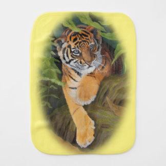 Tiger Cub Burp Cloth