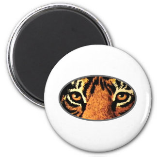 Tiger Eyes Grey The MUSEUM Zazzle Gifts Magnets