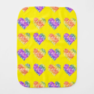 Tiger Heart 4 Burp Cloth