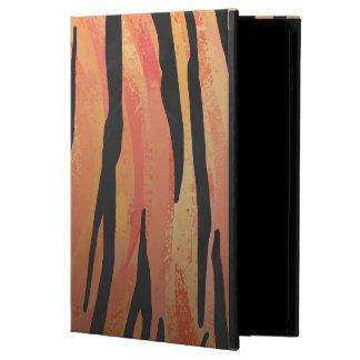 Tiger Hot orange and Black Print Powis iPad Air 2 Case