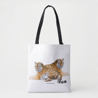 Tiger image for All-Over-Print Tote Bag