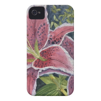 Tiger Lilies iPhone 4 Case