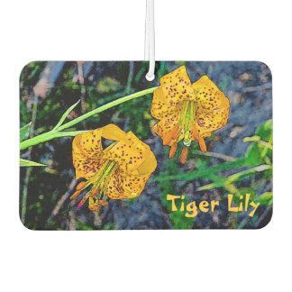 Tiger Lily Car Air Freshener