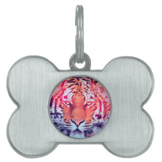 Tiger Pet Name Tag