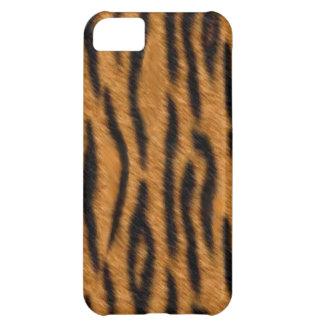 Tiger skin print design, Tiger stripes pattern iPhone 5C Case