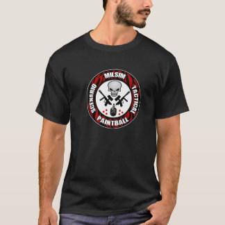 Tiger Stripe Scenario Paintball Badge T-Shirt