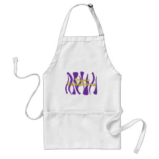 Tiger Tailgating Striped Apron