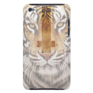 Tiger With Cross iPod Touch Case-Mate Case