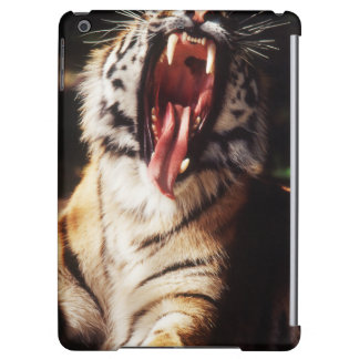 Tiger with mouth open case for iPad air